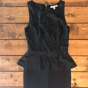 Dresses & Skirts - 🖤Black has peplum dress🖤